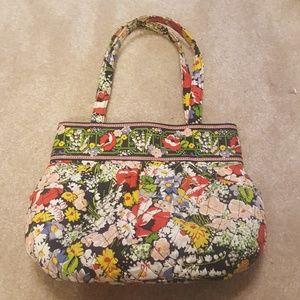 Vera Bradley Poppy Field bucket bag